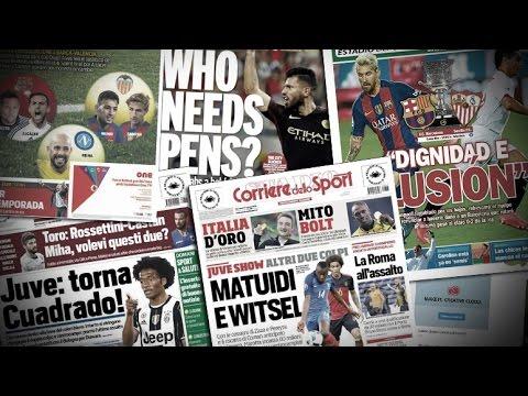 Agüero, Mourinho, Matuidi, Ben Yedder... La revue de presse !