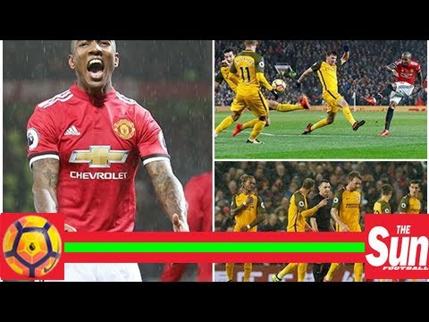 Manchester united 1 brighton 0 match highlights: lewis dunk own goal sees jose mourinho's side secu