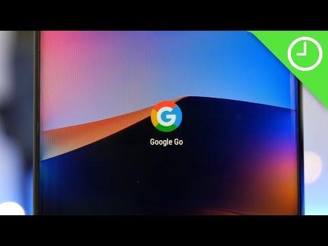 Google Go handson: Super cut-back browsing