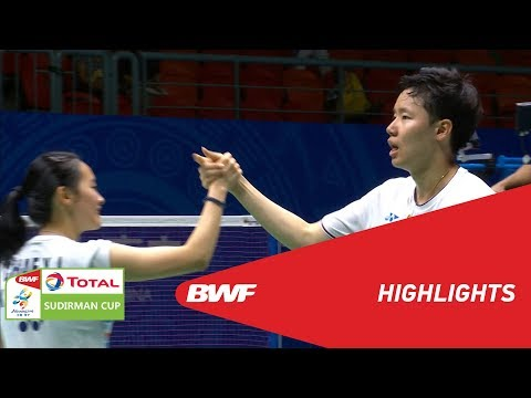 TOTAL BWF SUDIRMAN CUP 2019 | XD | CHINESE TAIPEI VS KOREA | BWF 2019
