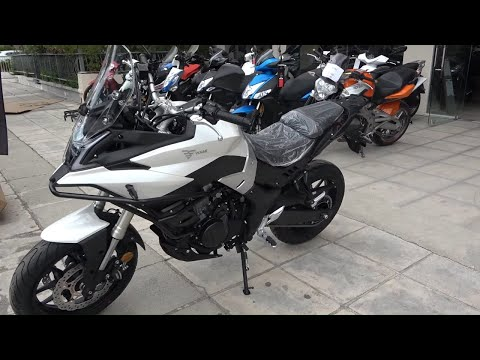 The 2020 VOGE 500DS motorcycle walkaround from YouTube · Duration:  5 minutes 11 seconds