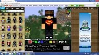 Como mudar sua skin no Craftlandia Minigames