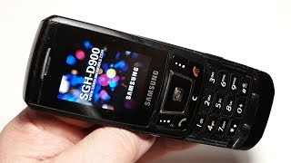 Смотри что я купил ! Samsung SGH D900. Ретро телефон из Германии. Капсула времени. Это  жесть !
