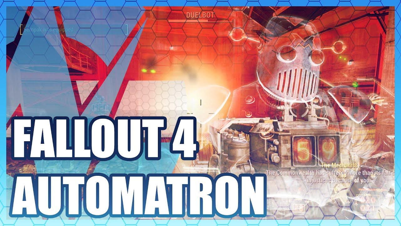 Fallout 4: Automatron - Review & Gameplay Video | GamersNexus
