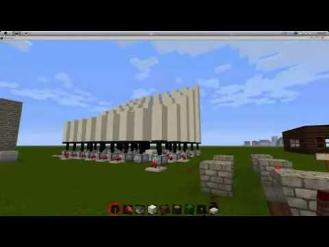 Pisten Mod Review Minecraft YouTube - Minecraft redstone hauser deutsch