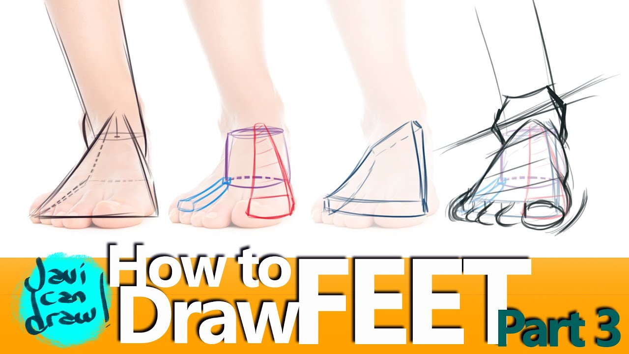 It is a graphic of Légend Drawing On Feet
