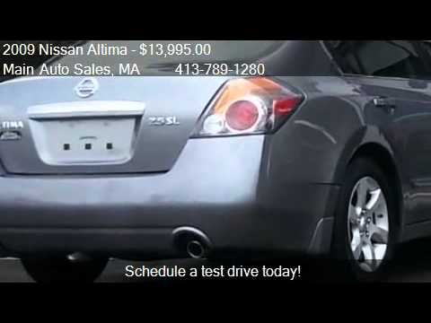 2009 Nissan Altima 2.5 SL For Sale In West Springfield, MA 0
