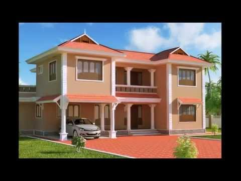 exterior designs of homes houses paint designs ideas indian modern homes and sm - House Paint Design Interior And Exterior