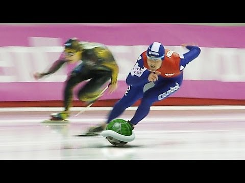 SOCHI 2014 - Speed Skating Double Dash Final