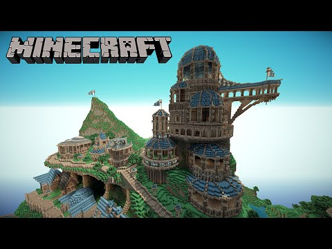 [Minecraft] Xây Lâu Đài Bằng Một Câu Lệnh command_block