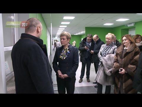 Визит губернатора в Кировск