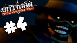 Batman Rise of Sin Tzu PART 4 Scarecrow Boss Battle! (Co-op)