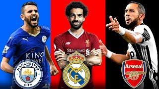 أقوى 7 إنتقالات متوقعة للنجوم العرب خلال هذا الصيف..!