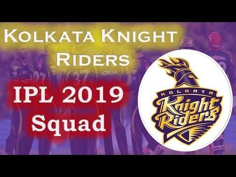 IPL 2019 Kolkata Knight Riders Team Squad | KKR Probable Team for IPL 2019