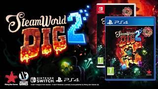 SteamWorld Dig 2 - Tráiler de lanzamiento.