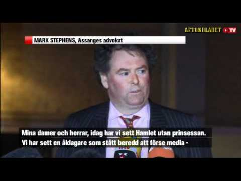 Mark Stephens - Julian Assange attacking Marianne Ny the criminal Swedish prosecutor