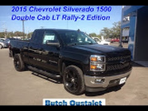 2015 Chevrolet Silverado 1500 Double Cab Lt Rally 2 Edition Youtube