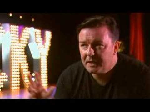 Ricky Gervais on The Culture Show