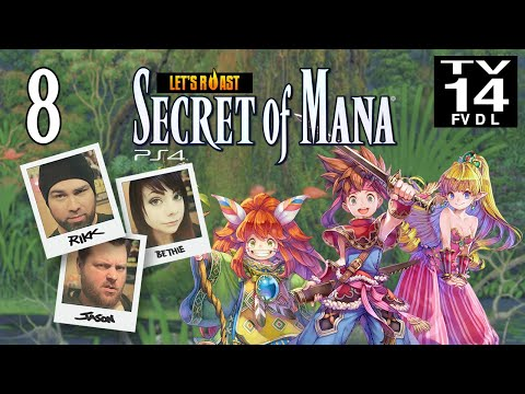 Secret of Mana Remake | PS4 [Part 8]: Flame Retardant Bikini