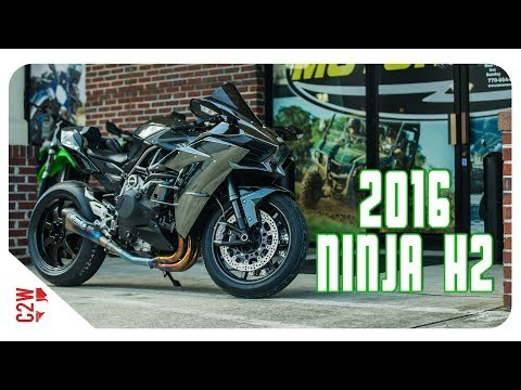 2016 Kawasaki Ninja H2 | First Ride