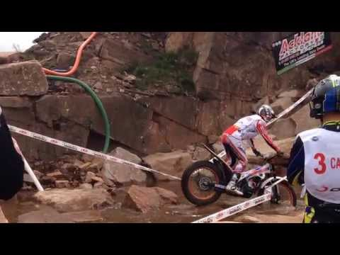 FIM World Trials Championship 2015 at Penrith