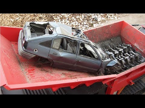 Amazing Modern Technology Machine Crushing Cars & Destroy An