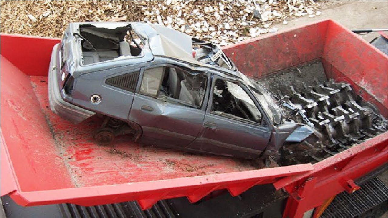 Amazing Modern Technology Machine Crushing Cars & Destroy