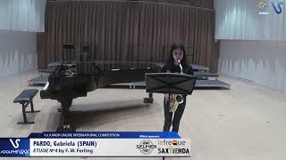 Gabriela Pardo – Etude Ferling 4