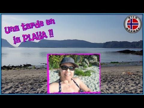 Una tarde en la PLAYA 😎 Kilo Norway / Mexicana en Noruega   Vlog 109
