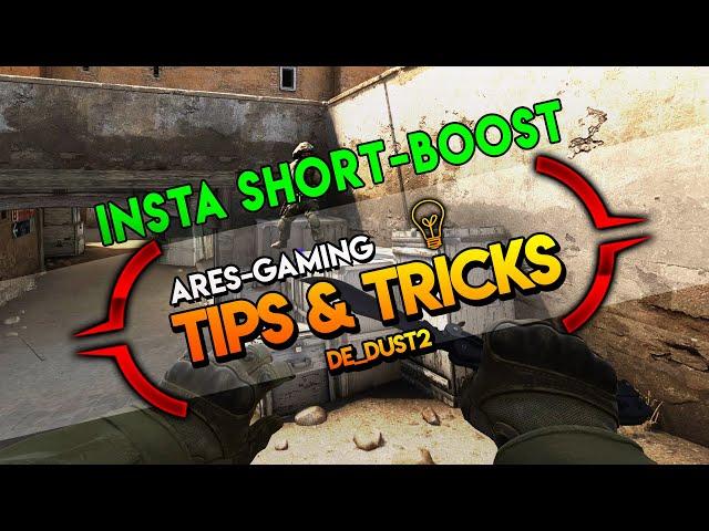 Tips & tricks: DE_DUST2 INSTA SHORT-BOOST [CS:GO] 2019 by ares-gaming