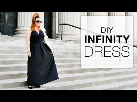 92eaeb4b8ab How to Make an Infinity Dress - YouTube