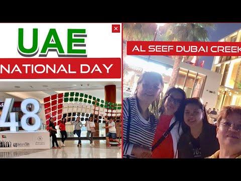 48TH UAE NATIONAL DAY | AL SEEF DUBAI CREEK | HOLIDAY |