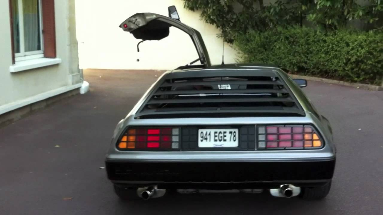 delorean vendre youtube