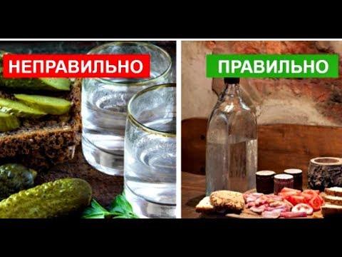 7 продуктов, Которыми Категорически Лучше не Закусывать Крепкий Алкоголь