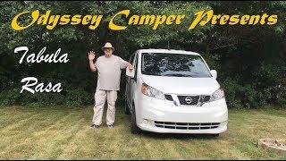 Tabula Rasa--Nissan NV200 Camper Build Part 1