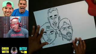 How To Draw Caricatures Dude Perfect