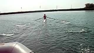 Tayfun çotuk Rowing Vespoli 1x Start Training From istanbul / Turkey