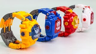 Transformers KO Robot Watch Optimus Prime Bumblebee Watch Transforming Robots Toys