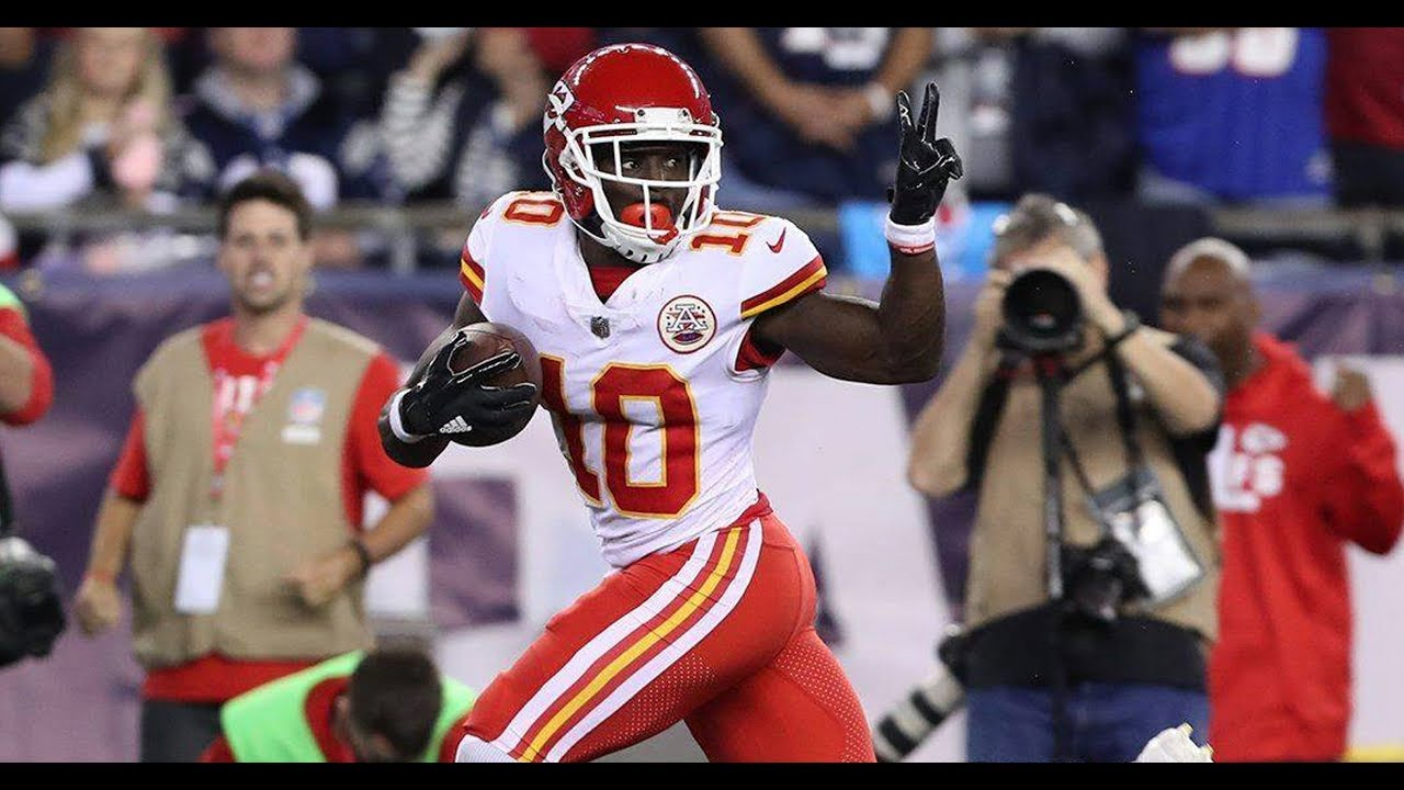 Kansas City Chiefs wideout Tyreek Hill has burned the Patriots in twice now Will New England be able to finally slow him down