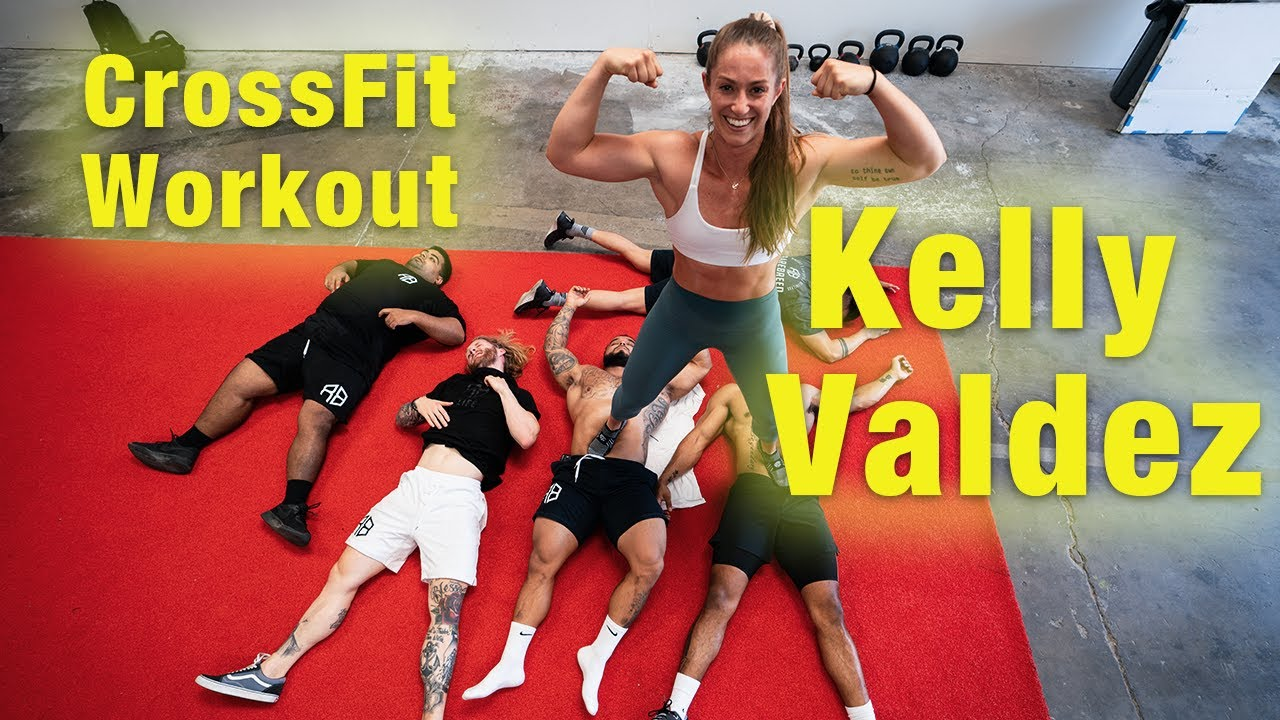 New Rare Breed Athlete | Kelly Valdez | Powerlifter Does Cross Fit Workout