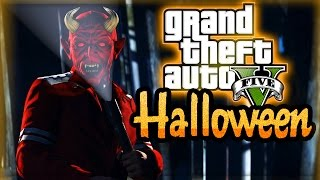 GTA 5 HALLOWEEN DLC GAMEPLAY! ALL 35 MASKS (GTA V ONLINE) - Vloggest