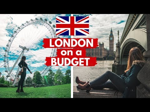 How to Travel and Stay in LONDON on a BUDGET / ad