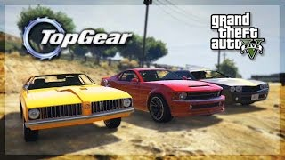 gta 5 online top gear edition muscle car challenge