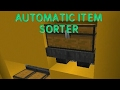 AUTOMATIC ITEM SORTER MCPE Easy and compact