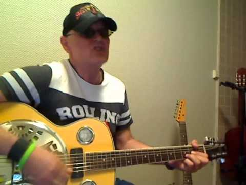 25 Minutes to go, Johnny Cash version, easy guitarlesson by Roger