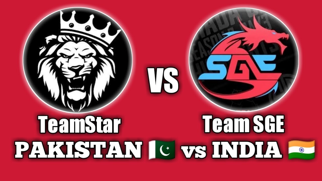 Download India 🇮🇳 vs Pakistan 🇵🇰 • TeamStar vs Team SYNERGE • 4v4 Tdm • PUBG • StarEsport