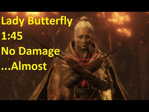 Sekiro: Boss Fight - Lady Butterfly/No Death | 1'45【YoyoMei】