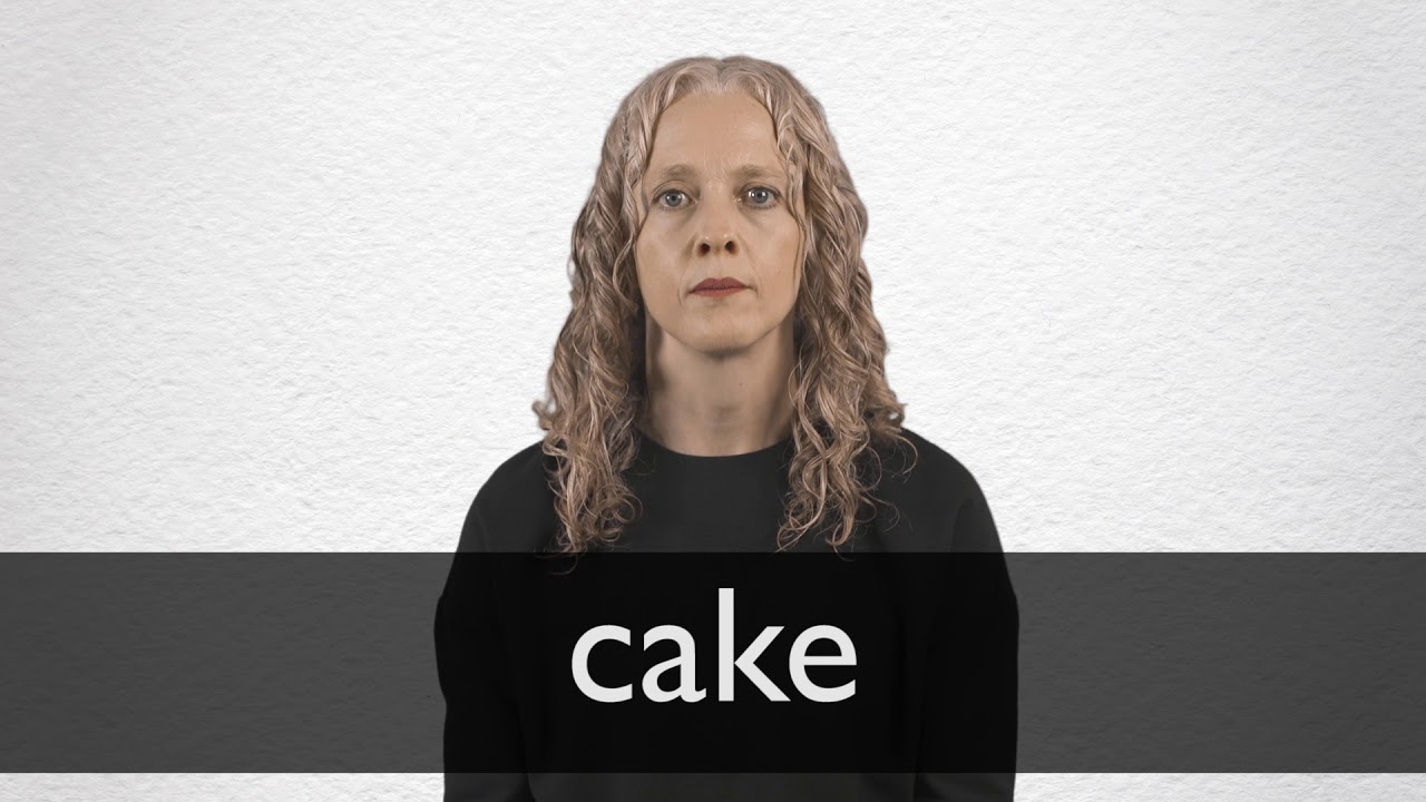 Cake definition and meaning   Collins English Dictionary