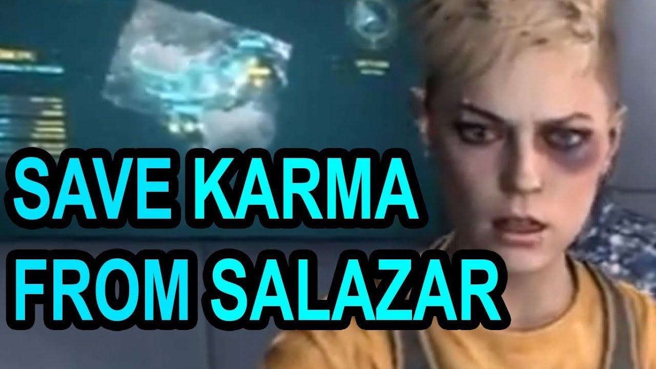 Black Ops 2 Save Karma From Salazar