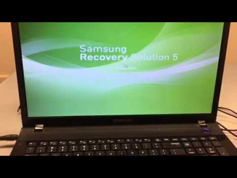 cara format laptop samsung windows 7